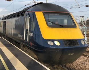 ScotRail Refurbished Inter7City  HST